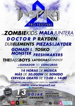 Inspira2 Pro Festival en Gojar