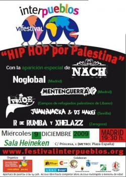 Interpueblos IV Festival Hip Hop por Palestina en Madrid