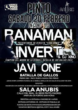 Invert, Ranaman, Javi One, Dj Xino y más en Pinto
