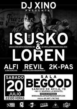 Isusko & Loren en Barcelona