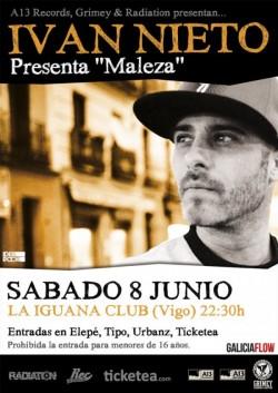 """Ivan Nieto presenta """"Maleza"""" en Vigo"""