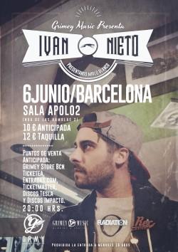 """Ivan Nieto presenta """"Mirlo blanco"""" en Barcelona"""