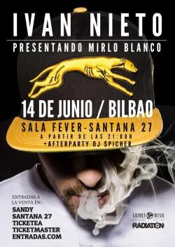 "Ivan Nieto presenta ""Mirlo blanco"" en Bilbao"