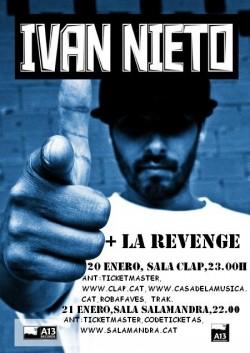 Ivan nieto & La revenge en Barcelona en Mataró