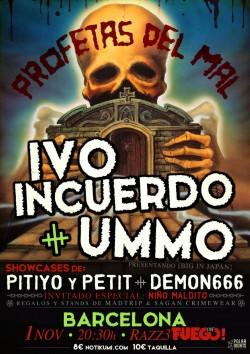 Ivo Incuerdo y UMMO en Barcelona
