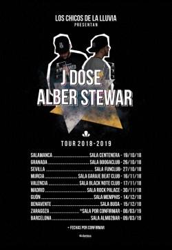 J Dose y Alber Stewar en Barcelona