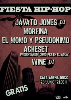 Javato Jones en Arena Rock (Zaragoza) en Zaragoza