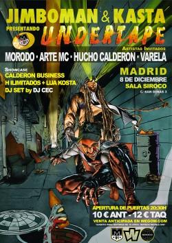 Jimboman y Kasta presentan Undertape¡ en Madrid
