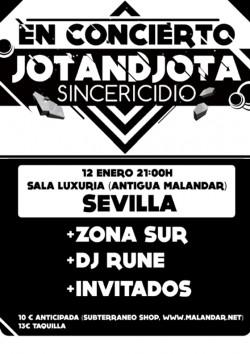 "Jotandjota presenta ""Sincericidio"" en Sevilla"