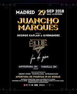 "Juancho Marqués presenta ""Blue Sundays"" en Madrid"