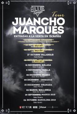 "Juancho Marqués presenta ""Blue Sundays"" en Santiago De Compostela"
