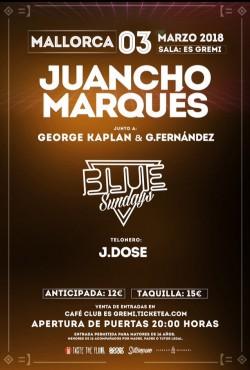 """Juancho Marqués presenta """"Blue sundays"""" en Palma De Mallorca"""