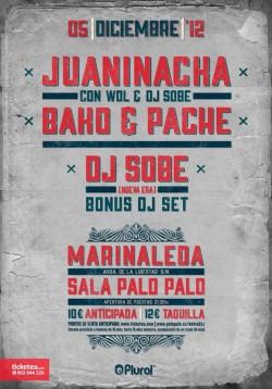 Juaninacka, Bako & Pache en Marinaleda