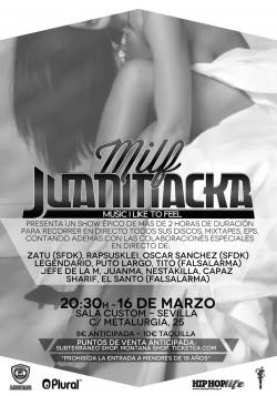 """Juaninacka presenta """"M.I.L.F"""" en Sevilla"""