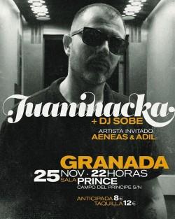 Juaninacka y Dj Sobe en Granada