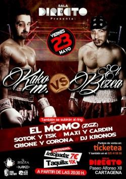 Kako.M VS El Bezea en Cartagena