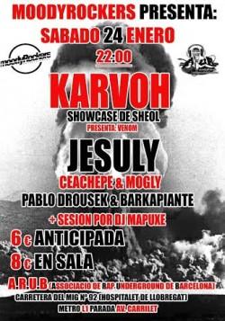 Karvoh, Jesuly, Ceachepe, Mogly y más en Hospitalet De Llobregat