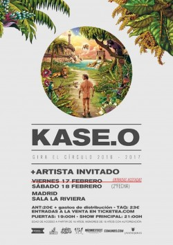 Kase.O - Gira El Círculo (2ª Fecha) en Madrid