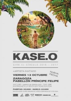 Kase.O - Gira El Círculo - 2º Fecha en Zaragoza