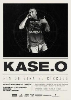 """Kase.O fin de gira """"El Círculo"""" en Madrid"""