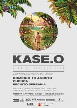 """Kase.O presenta """"El círculo"""" en Cuenca"""