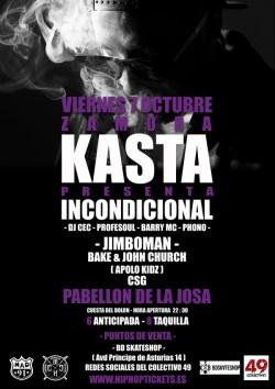"Kasta presenta ""Incondicional"" en Zamora"