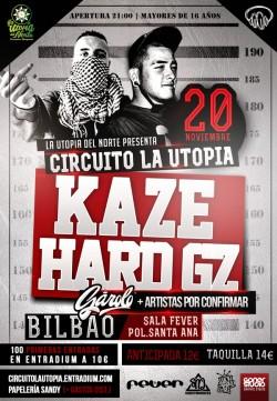 Kaze y Hard GZ en Bilbao