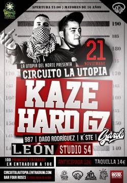 Kaze y Hard GZ en León