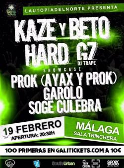 Kaze y Hard GZ en Málaga