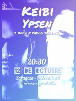 Keibi & Ypsen Fiestas del Pilar 2017 en Zaragoza