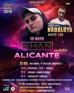 "Khan gira ""Nébula"" en Alicante"