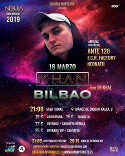 """Khan gira """"Nébula"""" en Bilbao"""