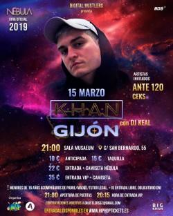 "Khan gira ""Nébula"" en Gijón"
