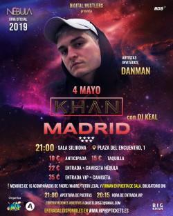 "Khan gira ""Nébula"" en Madrid"