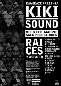 "Kiki Sound presenta ""Raices y Asfalto"" en Madrid"