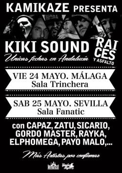 """Kiki Sound presenta """"Raíces y Asfalto"""" en Sevilla"""