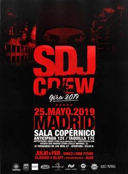 La SDJ Crew en Madrid