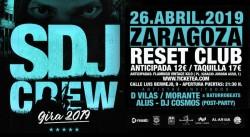 La SDJ Crew en Zaragoza