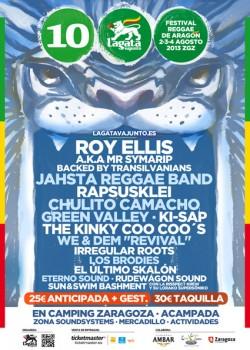 Lagatavajunto reggae festival 2013 en Zaragoza