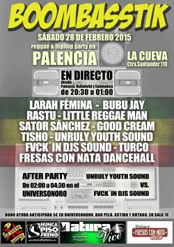 Larah Fémina, Little Reggaeman, Bubu Jay, Fvckín djs sound y más en Palencia