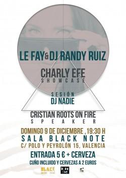 Le Fay y Dj Randy Ruiz en Valencia