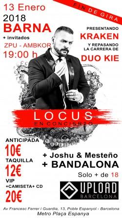 Locus en Barcelona
