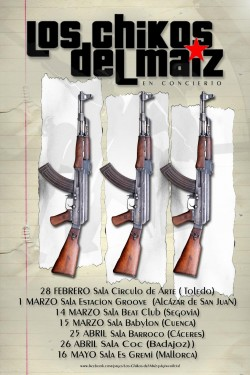 Los Chikos del Maíz en Alcazar De San Juan