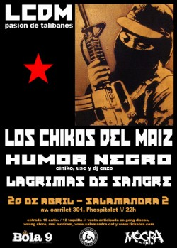 Los Chikos del Maíz en Barcelona