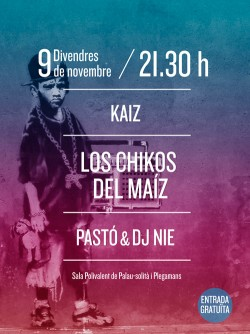 Los Chikos del Maíz en Palau (Barcelona)