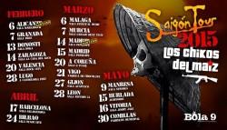 Los chikos del Maiz - Saigon Tour Sabado en Madrid