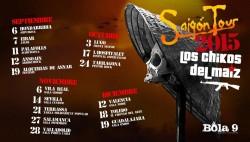 Los chikos del Maiz - Saigon Tour en Salamanca