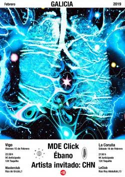 MDE Click, Ébano y CHN en A Coruña