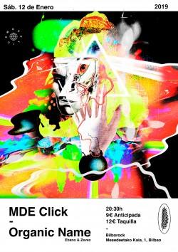 MDE Click y Organic name en Bilbao