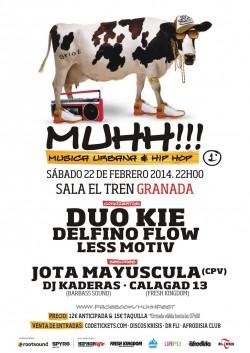 MUHH!!! Festival en Granada